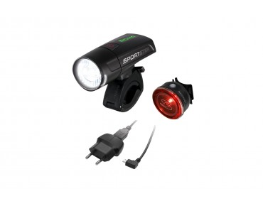 Sigma SPORTSTER/MONO RL lighting set black
