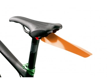 Velox clip-on mudguard orange