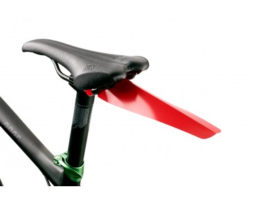 Velox clip-on mudguard red