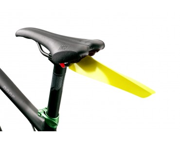 Velox clip-on mudguard yellow