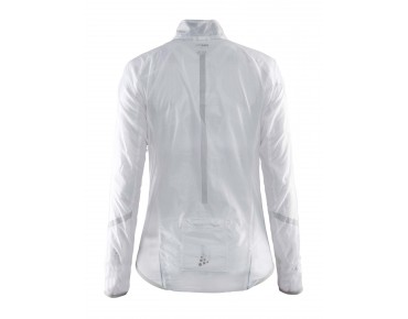 CRAFT FEATHERLIGHT women's windbreaker white