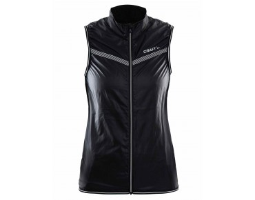 CRAFT FEATHERLIGHT windproof vest for women black