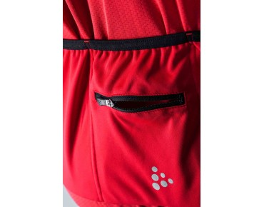 CRAFT GLOW jersey bright red