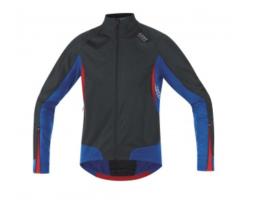 GORE BIKE WEAR XENON 2.0 WINDSTOPPER soft shell jersey jacket black/brilliant blue