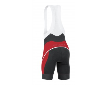 GORE BIKE WEAR OXYGEN Trägerhose black/red