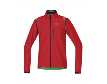 GORE BIKE WEAR ELEMENT WS AS zip-off jacket red