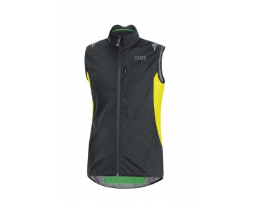 GORE BIKE WEAR ELEMENT WS AS Weste black/neon yellow
