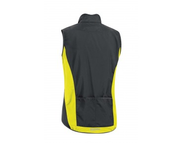 GORE BIKE WEAR ELEMENT WS AS bodywarmer black/neon yellow