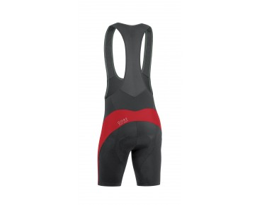 GORE BIKE WEAR ELEMENT bib shorts black/red