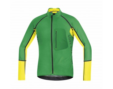 GORE BIKE WEAR ALP-X PRO WINDSTOPPER Soft Shell zip-off jacket