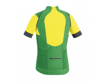 GORE BIKE WEAR ALP-X PRO WINDSTOPPER SOFT SHELL zip-off jersey jacket fresh green/cadmium yellow