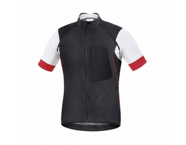 GORE BIKE WEAR ALP-X PRO WINDSTOPPER SOFT SHELL zip-off jersey jacket black-white