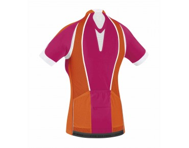 GORE BIKE WEAR OXYGEN FZ women's jersey jazzy pink/blaze orange