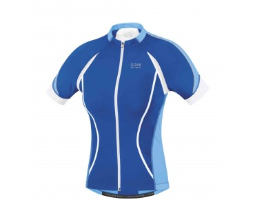 GORE BIKE WEAR OXYGEN FZ women's jersey brilliant blue/ice blue