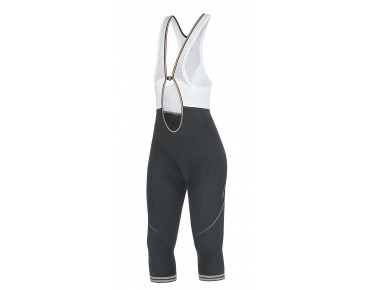 GORE BIKE WEAR POWER 3.0 3/4-length women's bib tights black-white