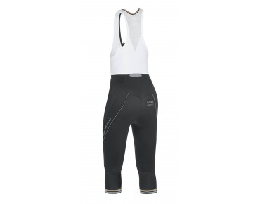GORE BIKE WEAR POWER 3.0 - salopette 3/4 donna black/white
