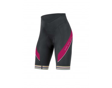 GORE BIKE WEAR POWER LADY 3.0 damesfietsbroek black/jazzy pink