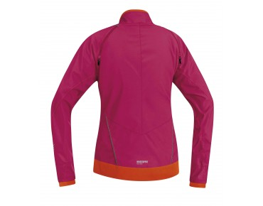 GORE BIKE WEAR ELEMENT WINDSTOPPER Active Shell Zipp-off Damenjacke jazzy pink/blaze orange