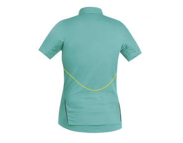 GORE BIKE WEAR ELEMENT women's jersey turquoise/neon yellow