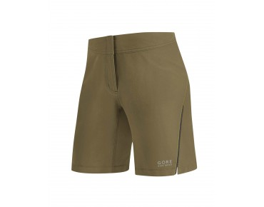 GORE BIKE WEAR ELEMENT LADY women's shorts olive/neon yellow