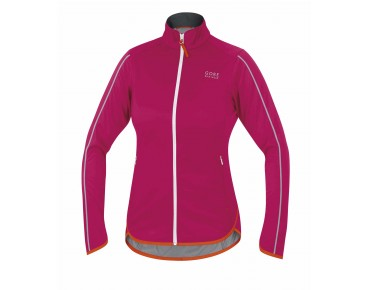 GORE BIKE WEAR COUNTDOWN WINDSTOPPER Soft Shell LIGHT Damen Jacke jazzy pink/blaze orange