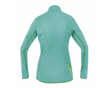 GORE BIKE WEAR COUNTDOWN WINDSTOPPER Soft Shell LIGHT Damen Jacke turquoise/fresh green