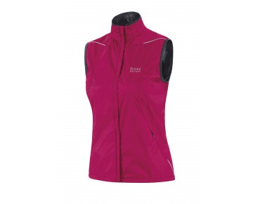 GORE BIKE WEAR COUNTDOWN WINDSTOPPER Active Shell Damen-Weste jazzy pink