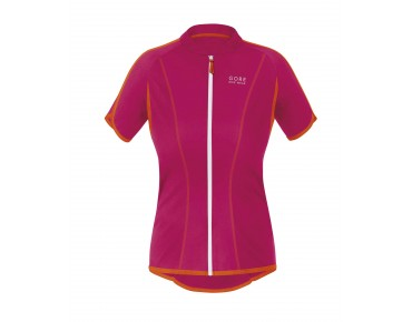 GORE BIKE WEAR COUNTDOWN 3.0 FZ women's jersey jazzy pink/blaze orange