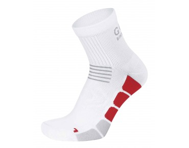 GORE BIKE WEAR SPEED mid socks white/red