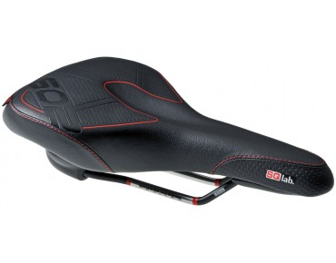 SQlab 602 active DS trekking saddle black