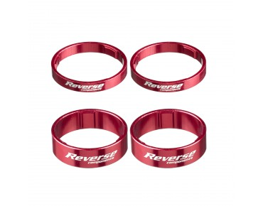 Reverse Alloy Ultra-Light spacer red