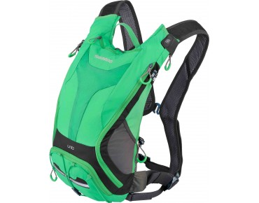 SHIMANO UNZEN II 10 backpack with hydration system island green