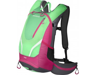 SHIMANO ROKKO II 12 backpack island green/jazzberry