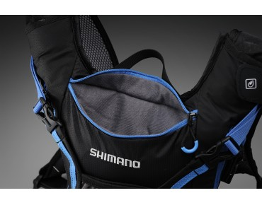 SHIMANO ROKKO II 16 backpack lightning blue/orange
