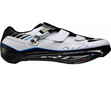 SHIMANO SH-R171 road shoes carbon fibre composite sole weiß