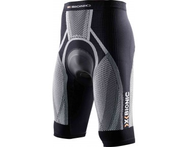 X BIONIC THE TRICK cycling shorts black/white