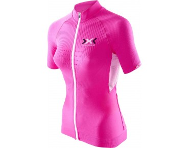 X BIONIC THE TRICK women's jersey pink/white