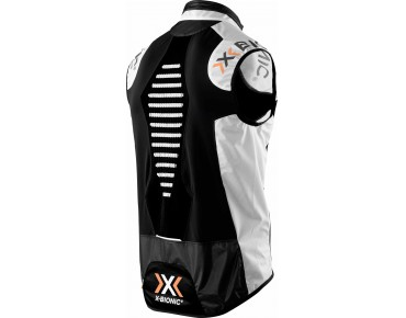 X BIONIC NEW SPHEREWIND BIKING Weste white/black