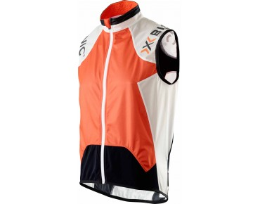 X BIONIC NEW SPHEREWIND BIKING Weste orange/white/black