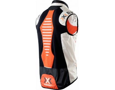 X BIONIC NEW SPHEREWIND BIKING vest orange/white/black