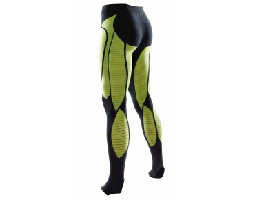 X BIONIC PRECUPERATION tights black/yellow