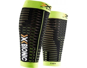 X BIONIC SPYKER COMPETITION calf sleeves black/green