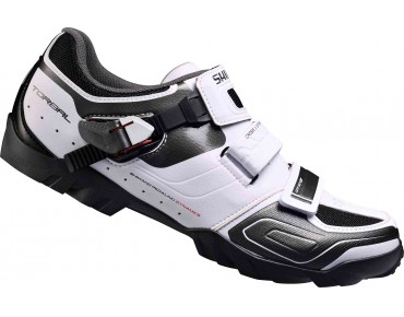 SHIMANO SH-M089 E MTB shoes, extra wide white