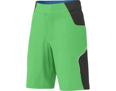 SHIMANO EXPLORER bike shorts iceland green
