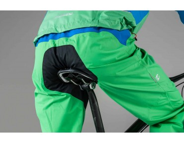 SHIMANO STORM waterproof trousers iceland green