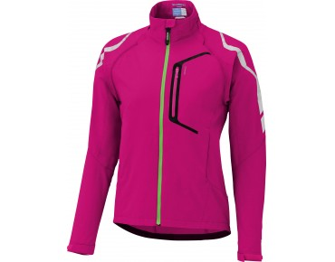 SHIMANO HYBRID women's windproof cycling jacket jazzberry