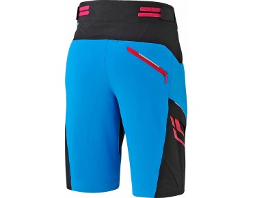 SHIMANO EXPLORER women's shorts lightning blau