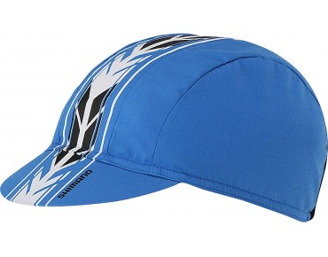 SHIMANO BASIC racing cap blau
