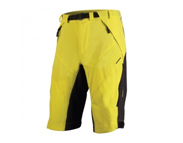 ENDURA MT500 SPRAY baggy shorts yellow