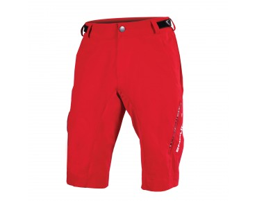 ENDURA SINGLETRACK LITE Bikeshorts red